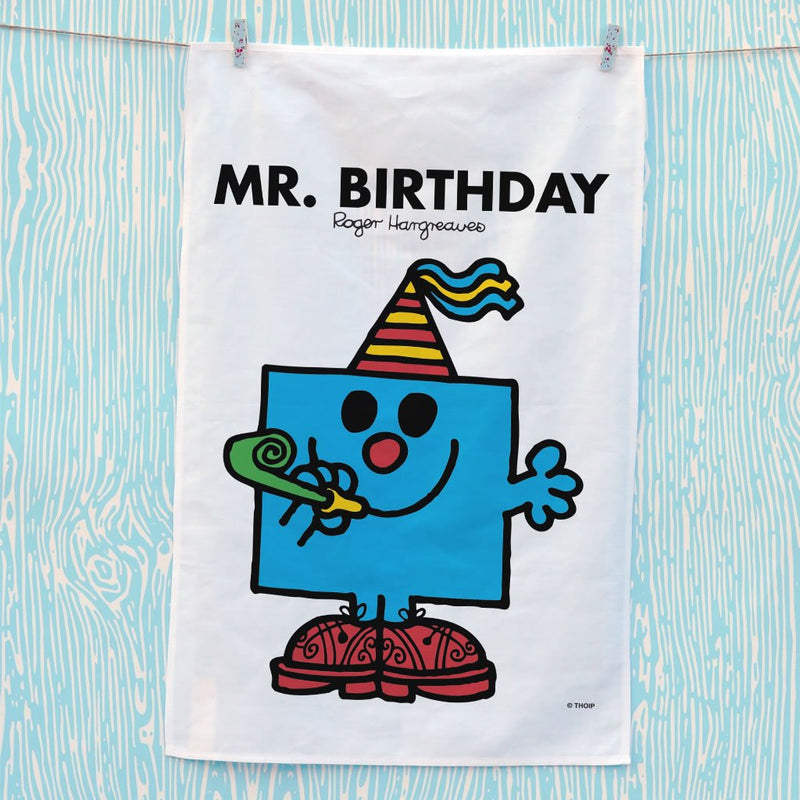 Mr. Birthday Tea Towel (Lifestyle)