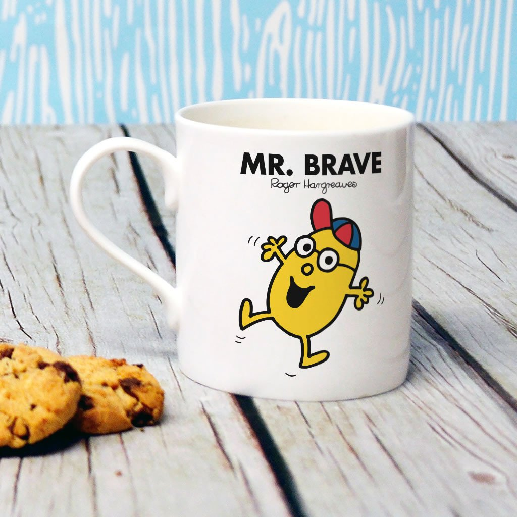 Mr. Brave Bone China Mug (Lifestyle)