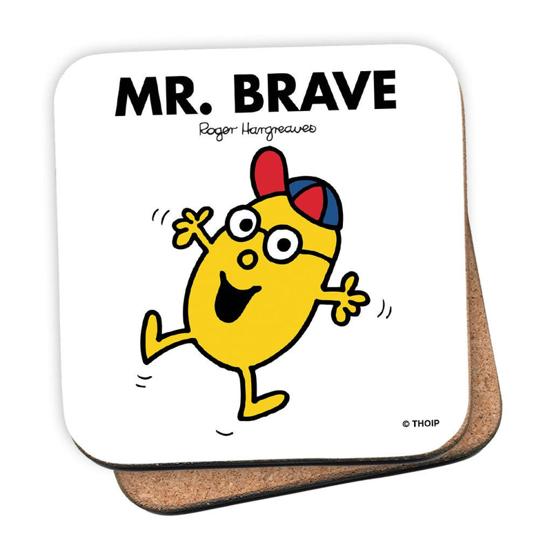 Mr. Brave Cork Coaster
