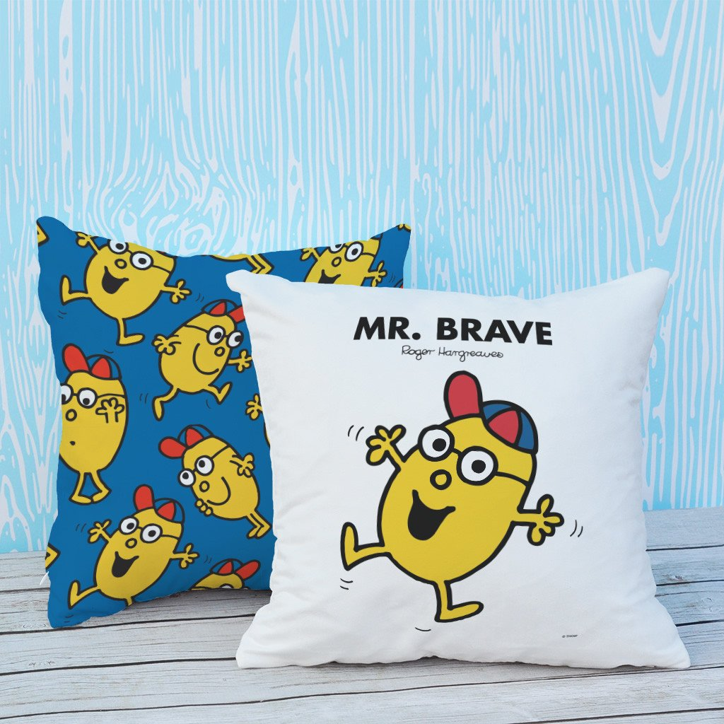 Mr. Brave Micro Fibre Cushion (Lifestyle)