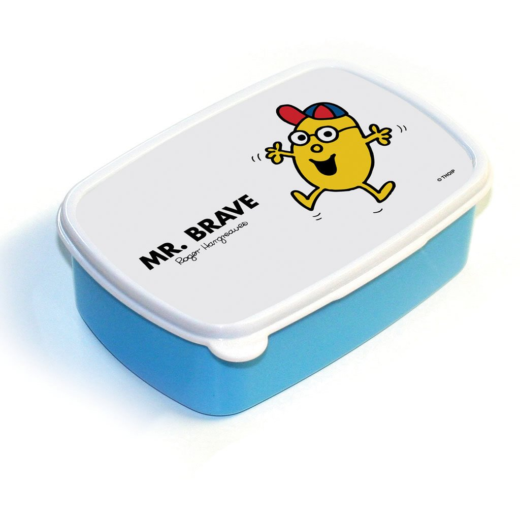 Mr. Brave Lunchbox (Blue)