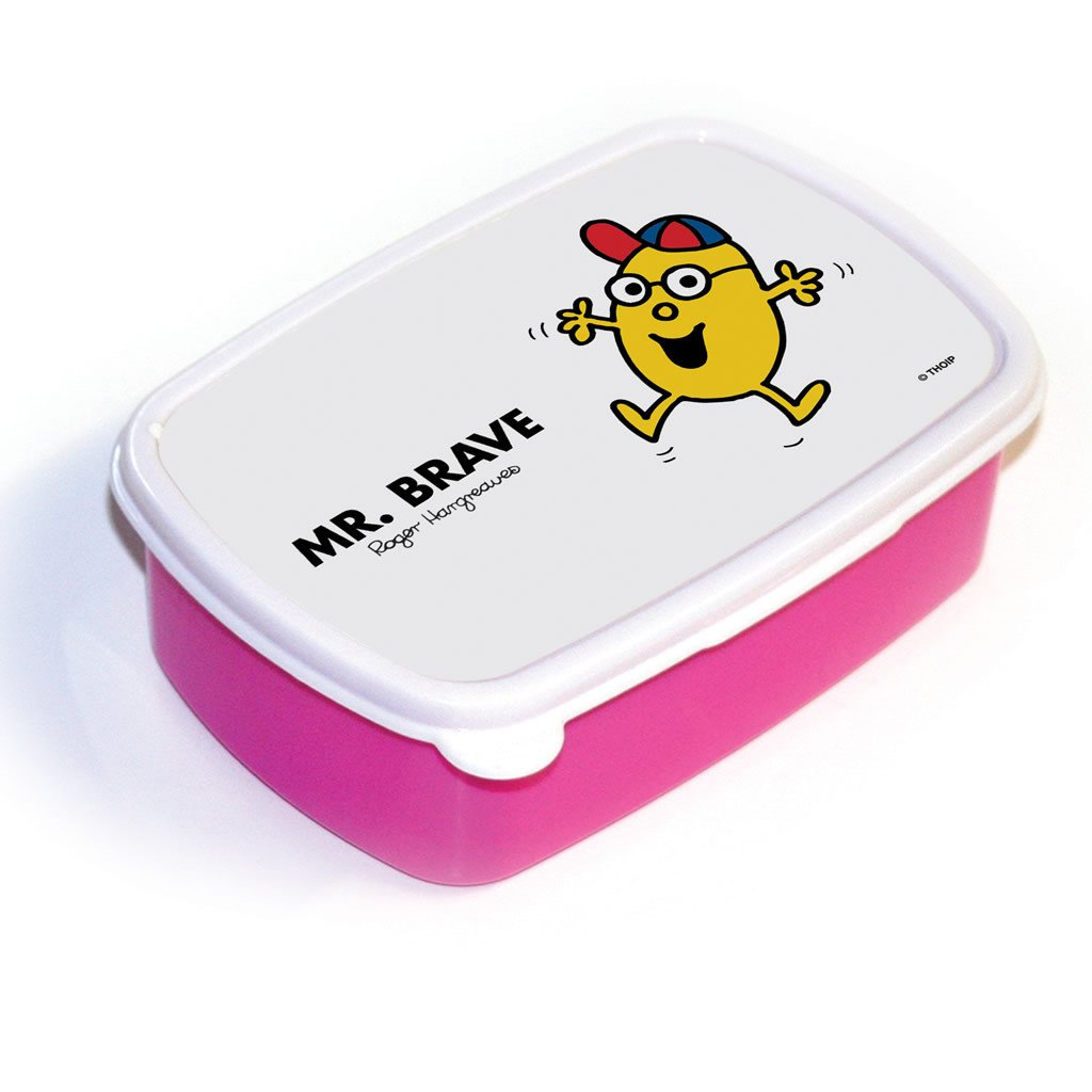Mr. Brave Lunchbox (Pink)