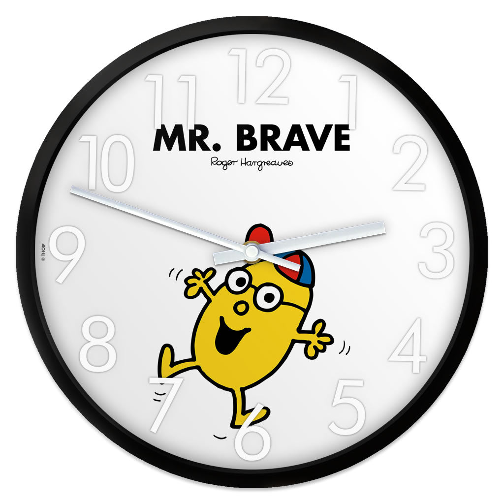 Mr. Brave Personalised Clock