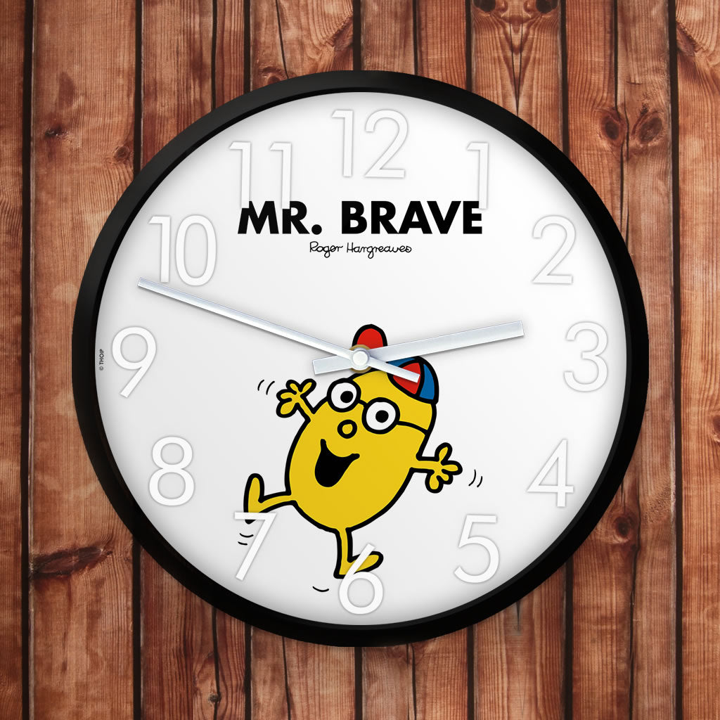 Mr. Brave Personalised Clock (Lifestyle)