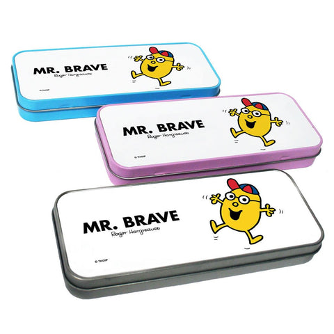 Mr. Brave Pencil Case Tin