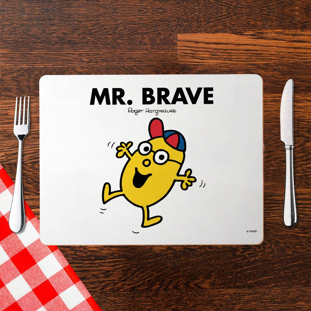 Mr. Brave Cork Placemat (Lifestyle)