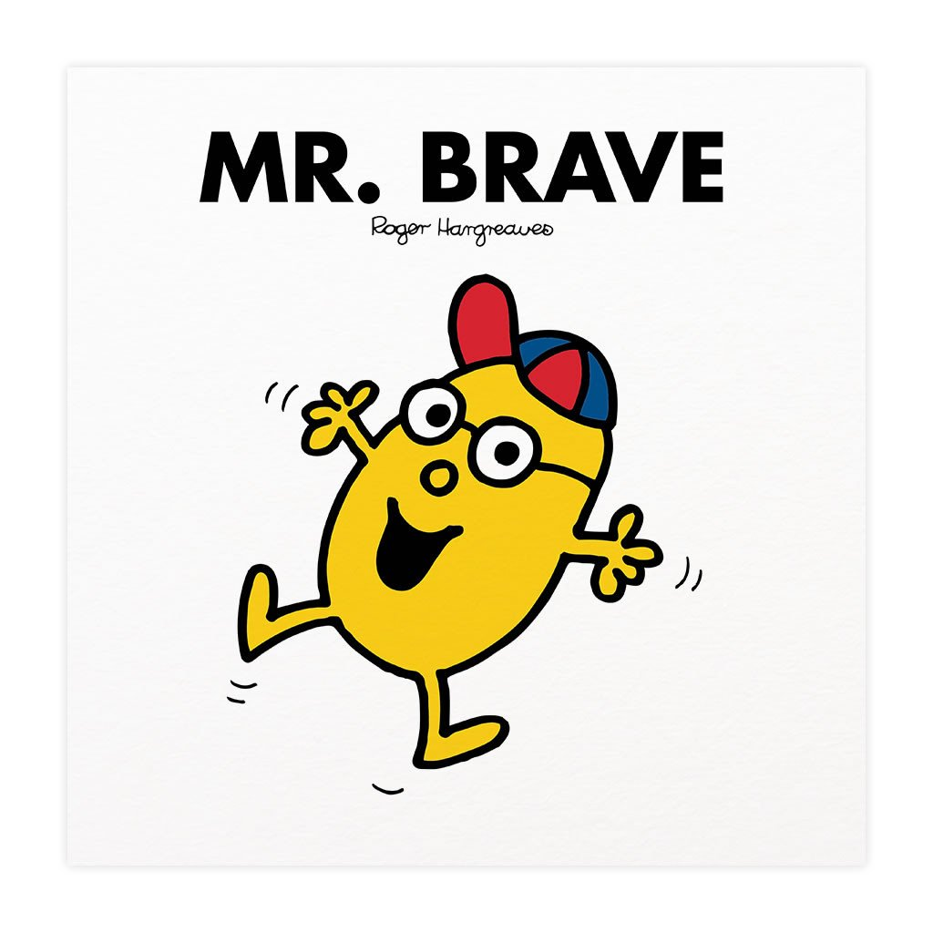Mr. Brave Mounted Art Print