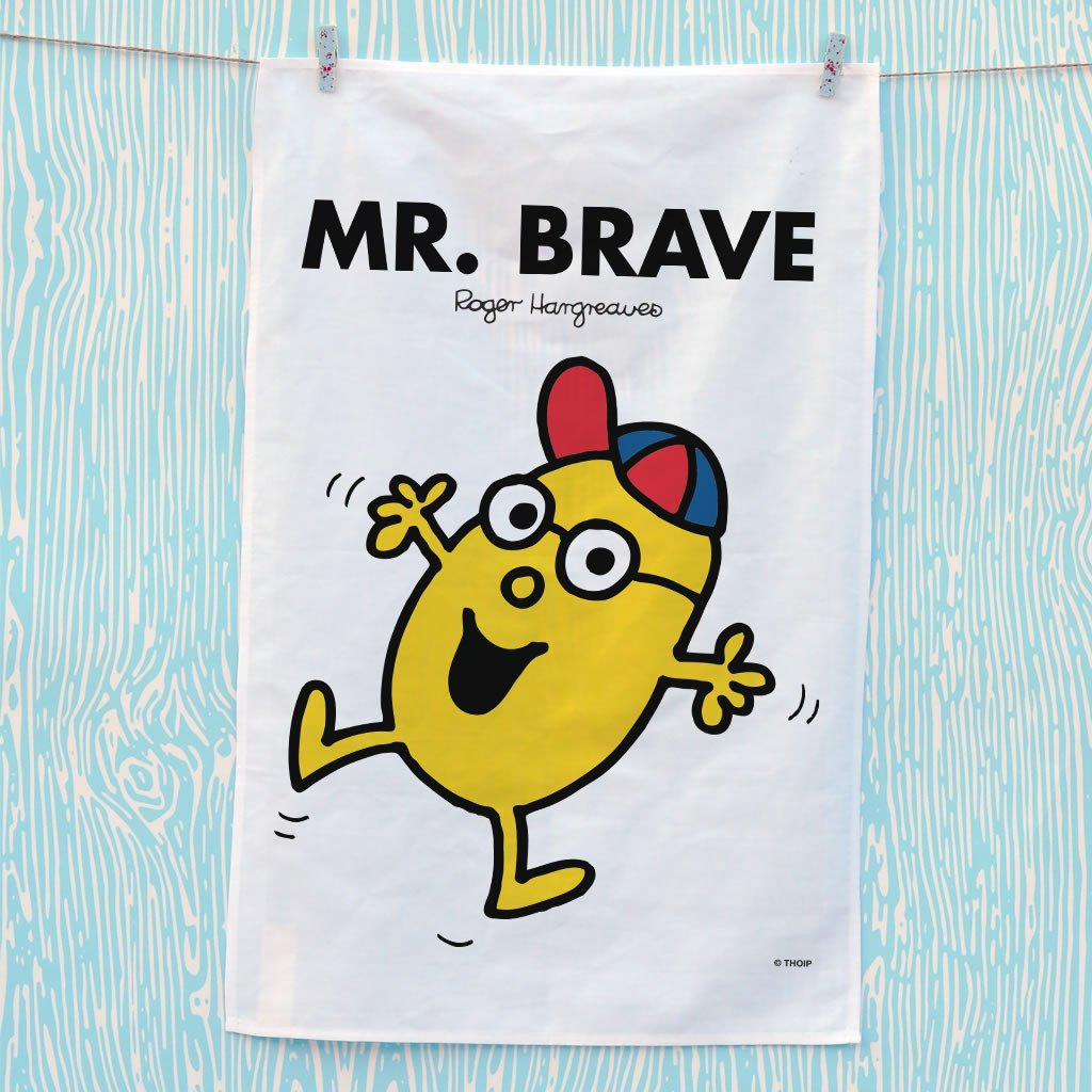 Mr. Brave Tea Towel (Lifestyle)
