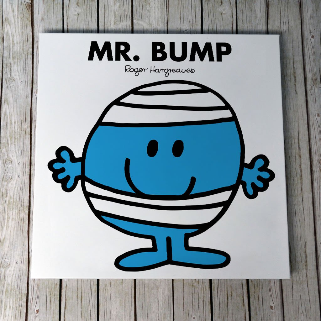 Mr. Bump Canvas (Lifestyle)