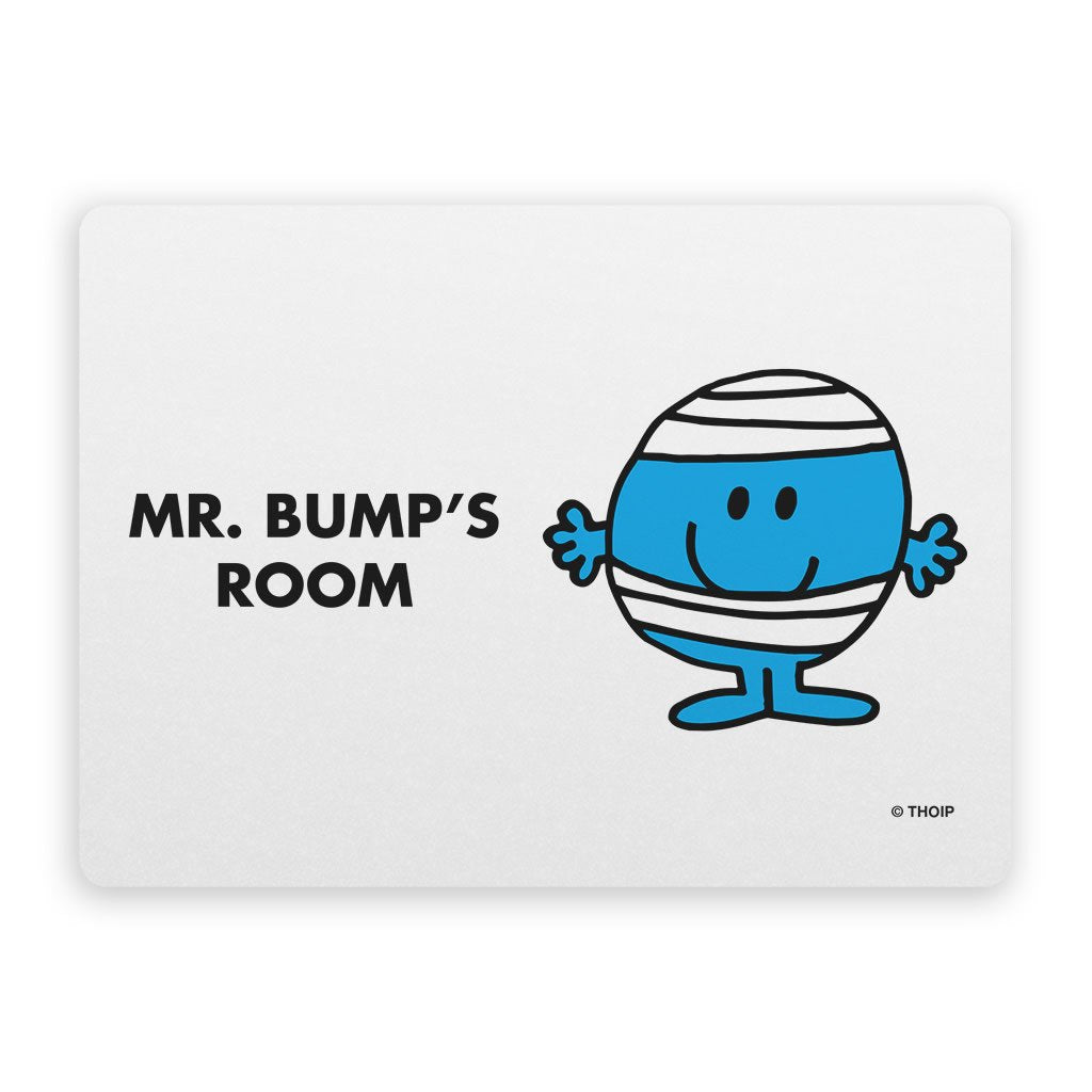 Mr. Bump Door Plaque