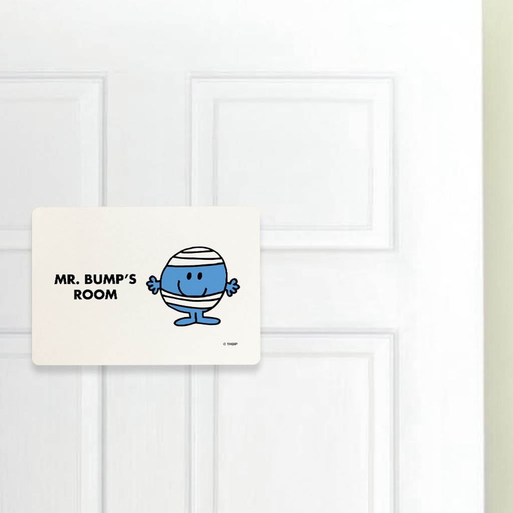 Mr. Bump Door Plaque (Lifestyle)
