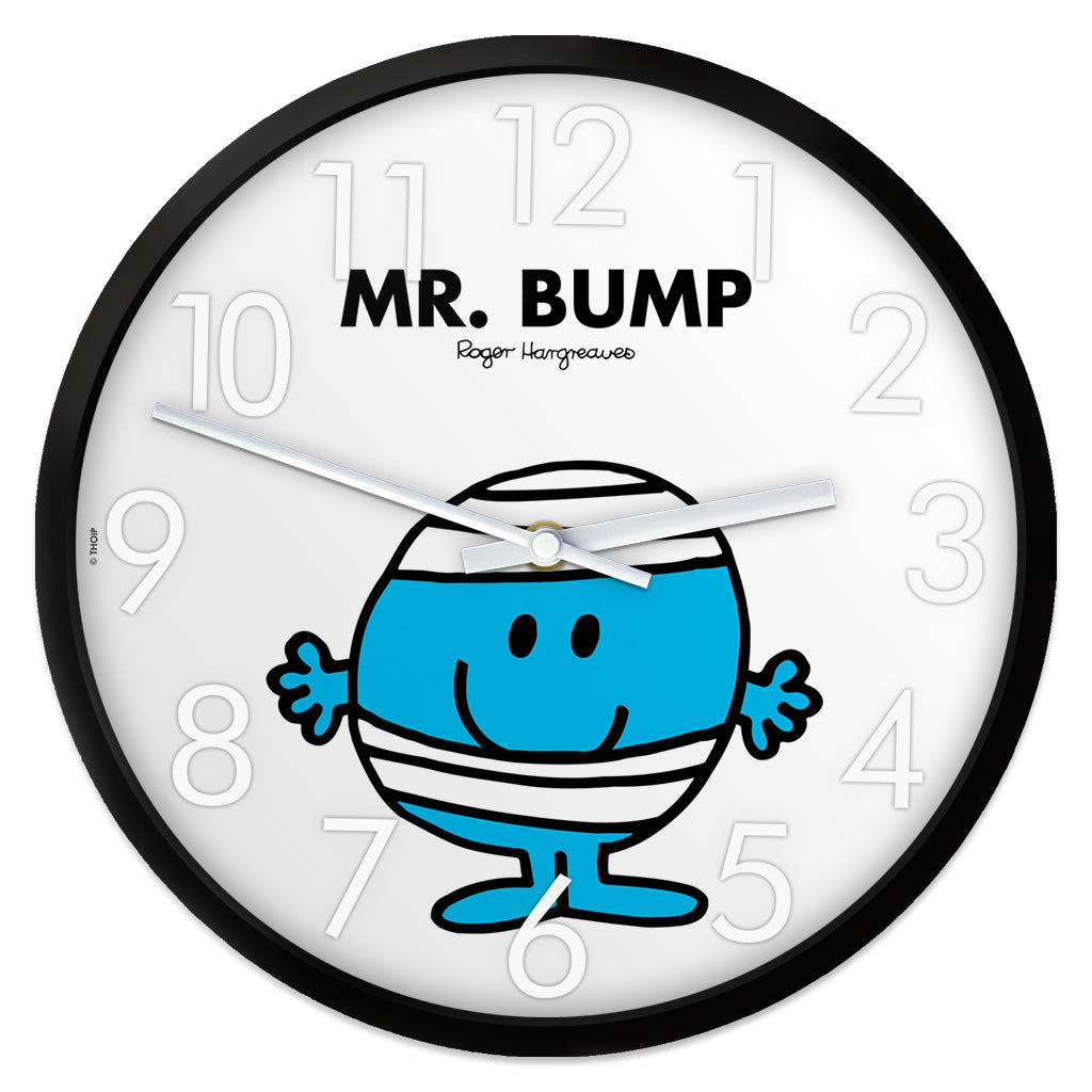 Mr. Bump Personalised Clock