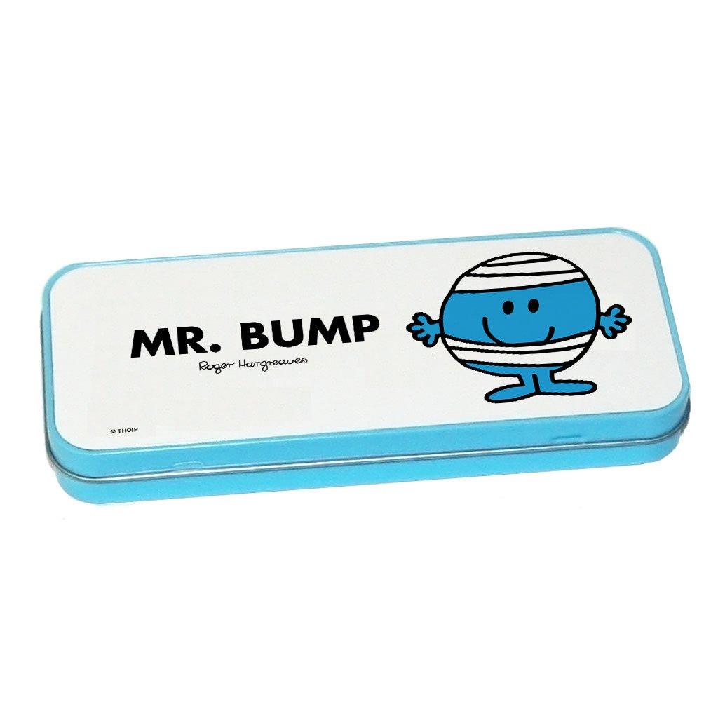 Mr. Bump Pencil Case Tin (Blue)