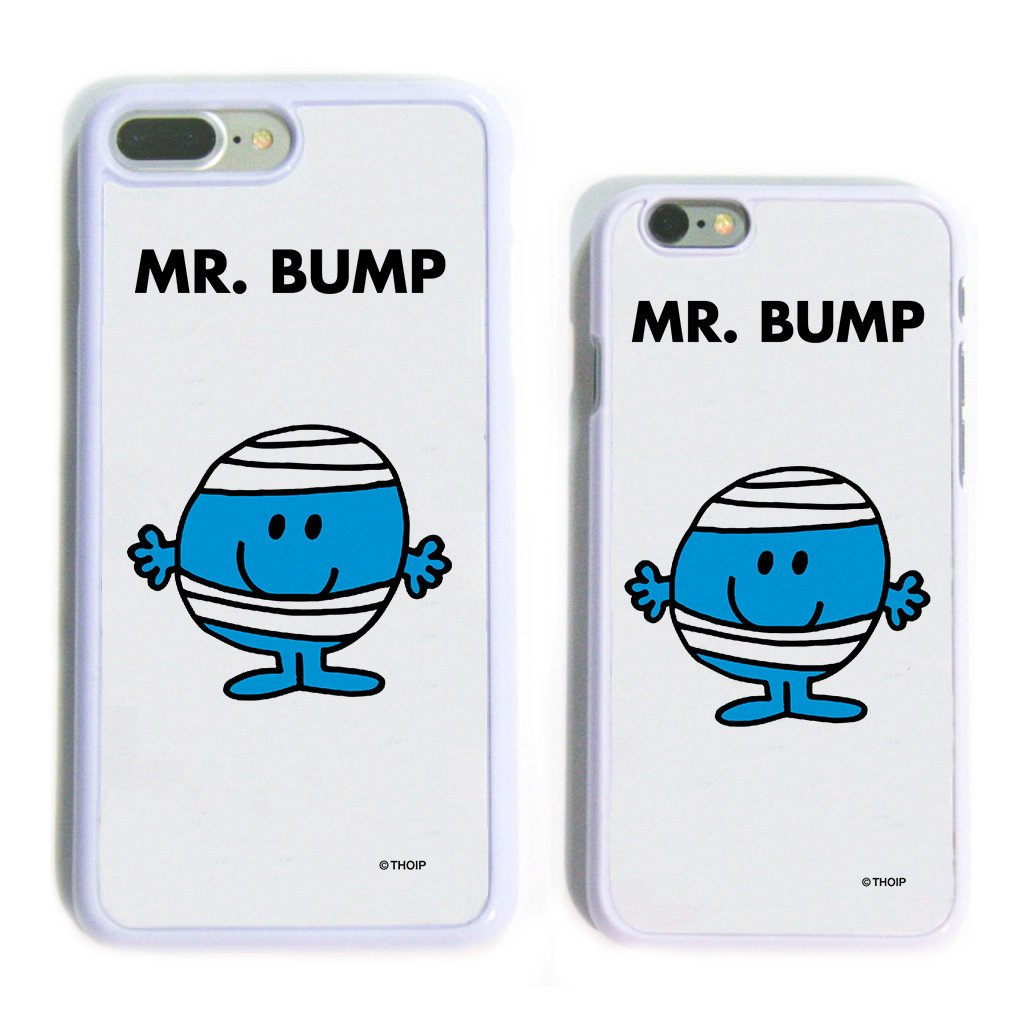 Mr. Bump White Phone Case
