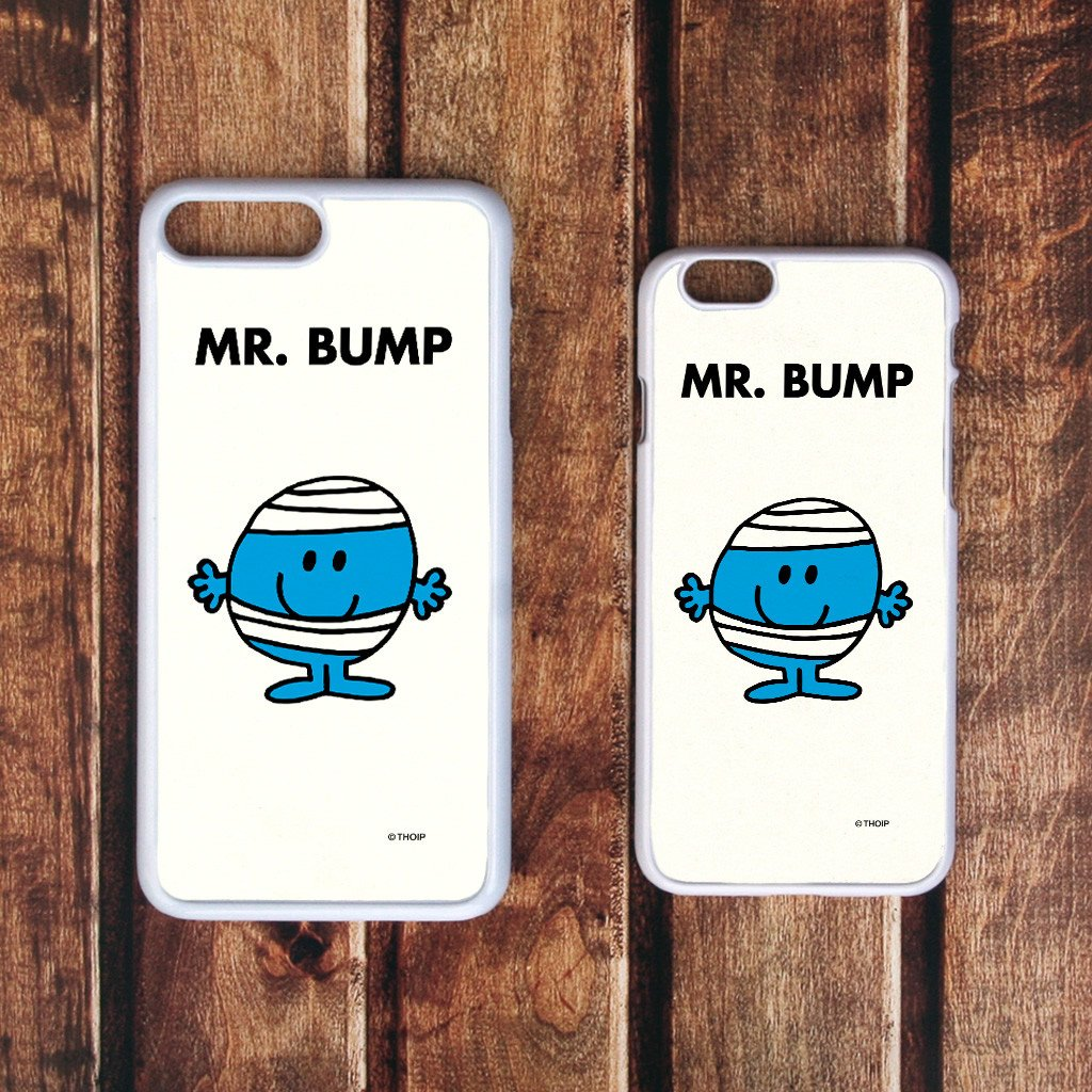 Mr. Bump White Phone Case (Lifestyle)