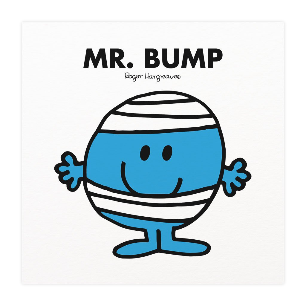 Mr. Bump Mounted Art Print