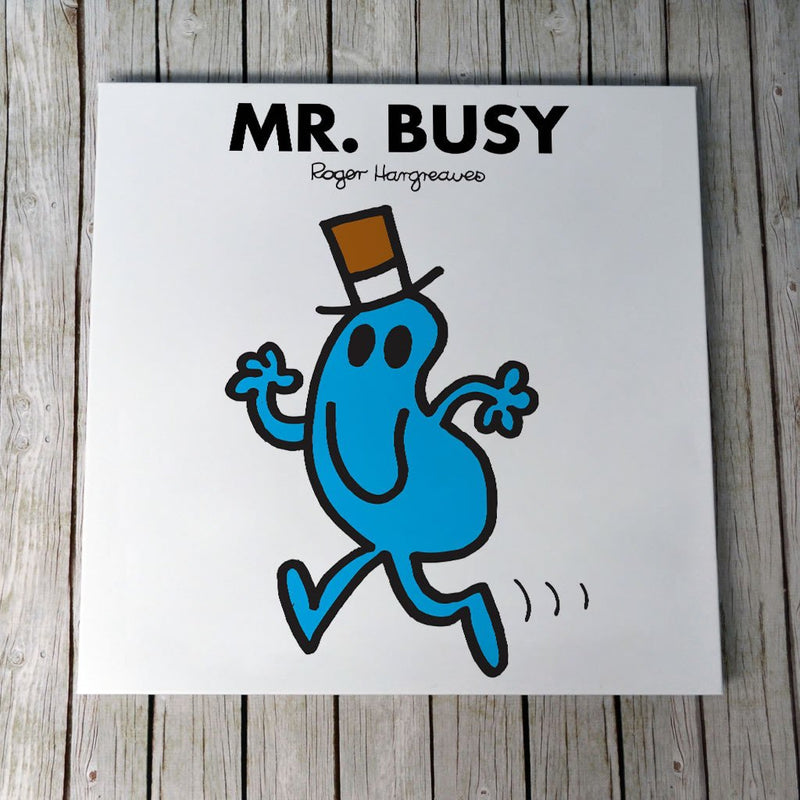 Mr. Busy Canvas (Lifestyle)