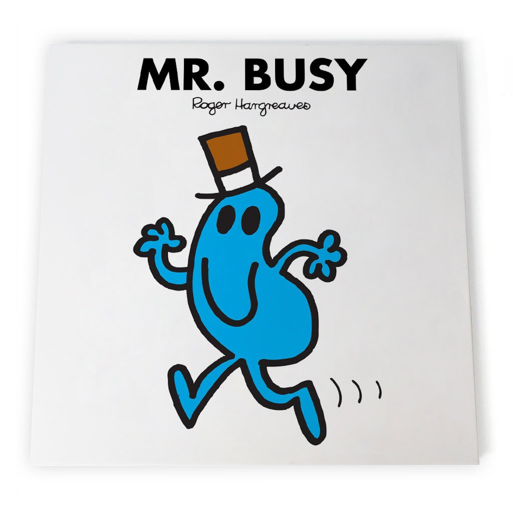 Mr. Busy Canvas