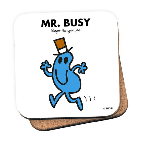 Mr. Busy Cork Coaster