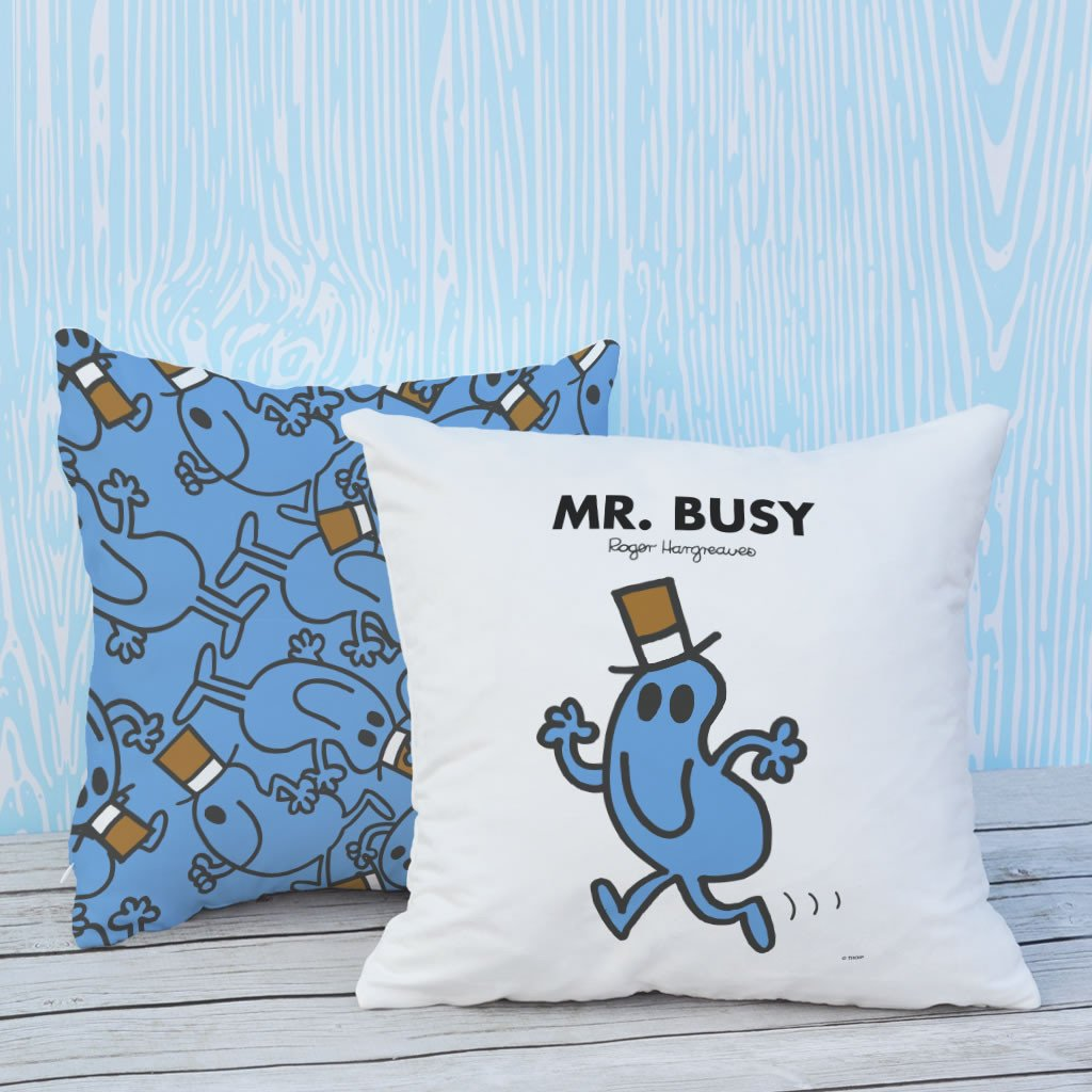 Mr. Busy Micro Fibre Cushion (Lifestyle)