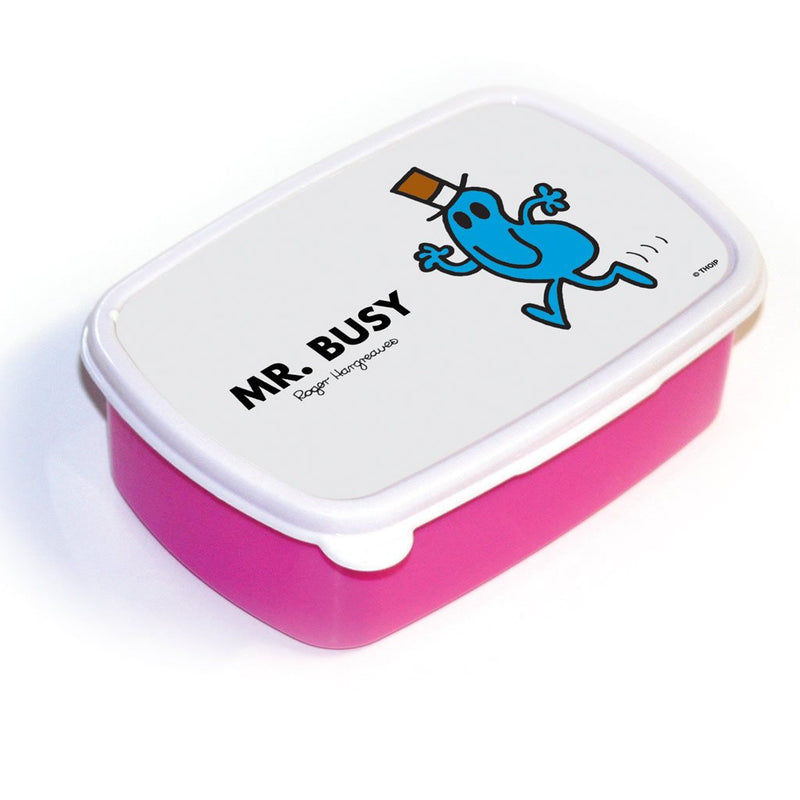 Mr. Busy Lunchbox (Pink)