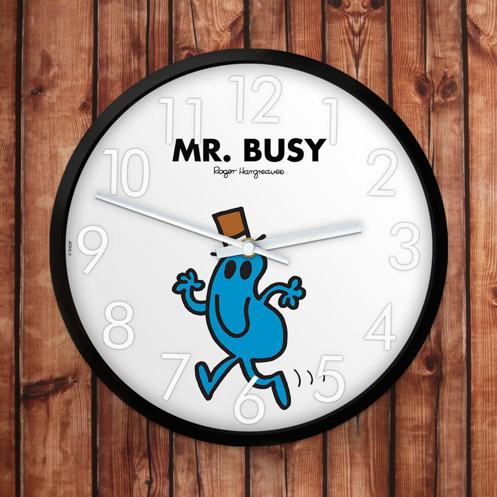 Mr. Busy Personalised Clock (Lifestyle)