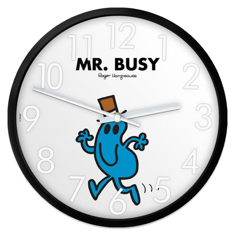Mr. Busy Personalised Clock