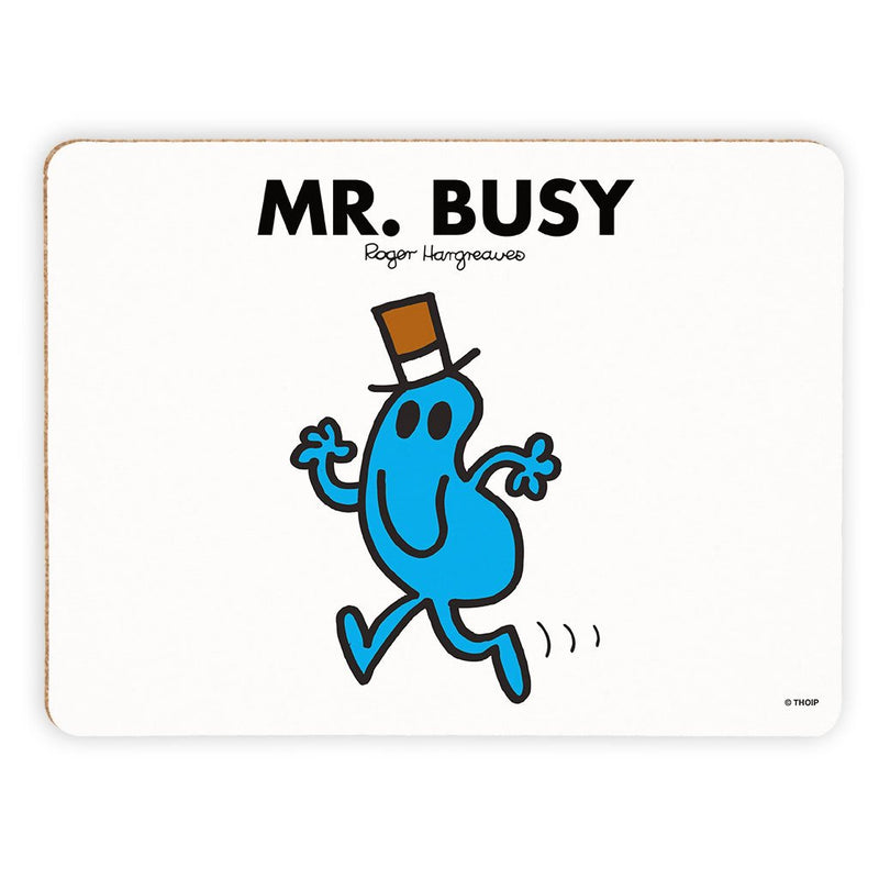 Mr. Busy Cork Placemat