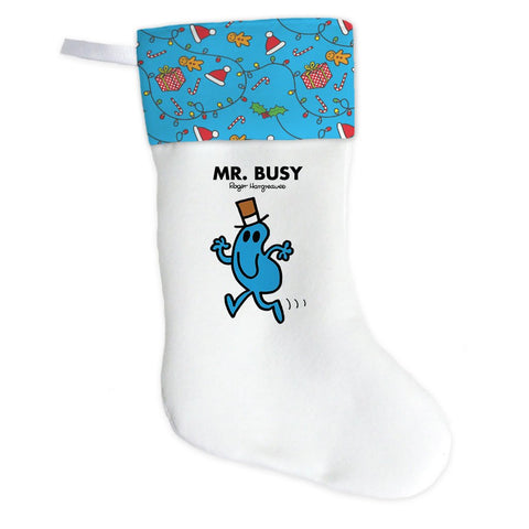 Mr. Busy Christmas Stocking (Front)