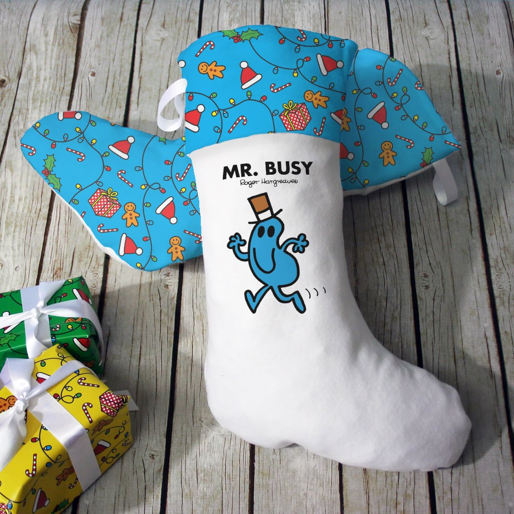 Mr. Busy Christmas Stocking (Lifestyle)