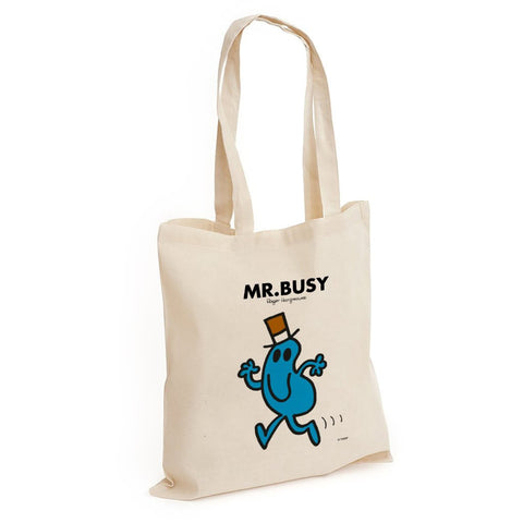 Mr. Busy Long Handled Tote Bag