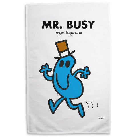 Mr. Busy Tea Towel