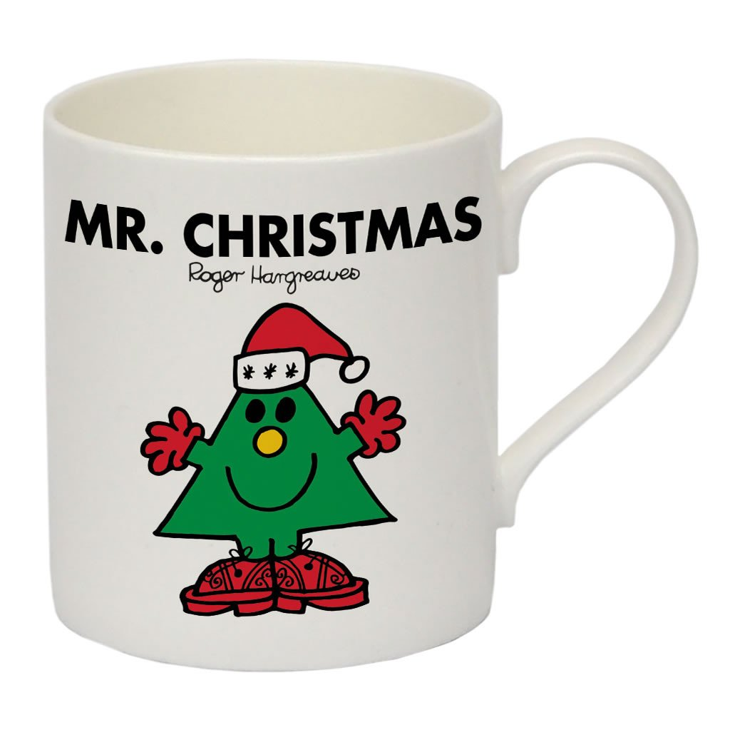 Mr. Christmas Bone China Mug