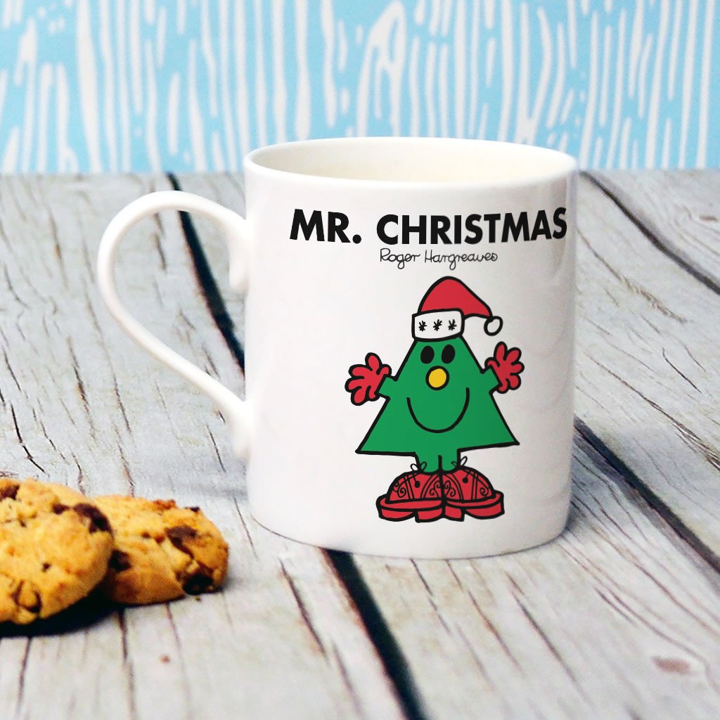 Mr. Christmas Bone China Mug (Lifestyle)