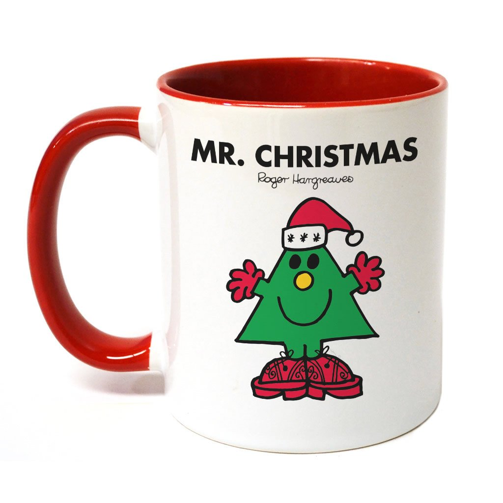 Mr. Christmas Large Porcelain Colour Handle Mug