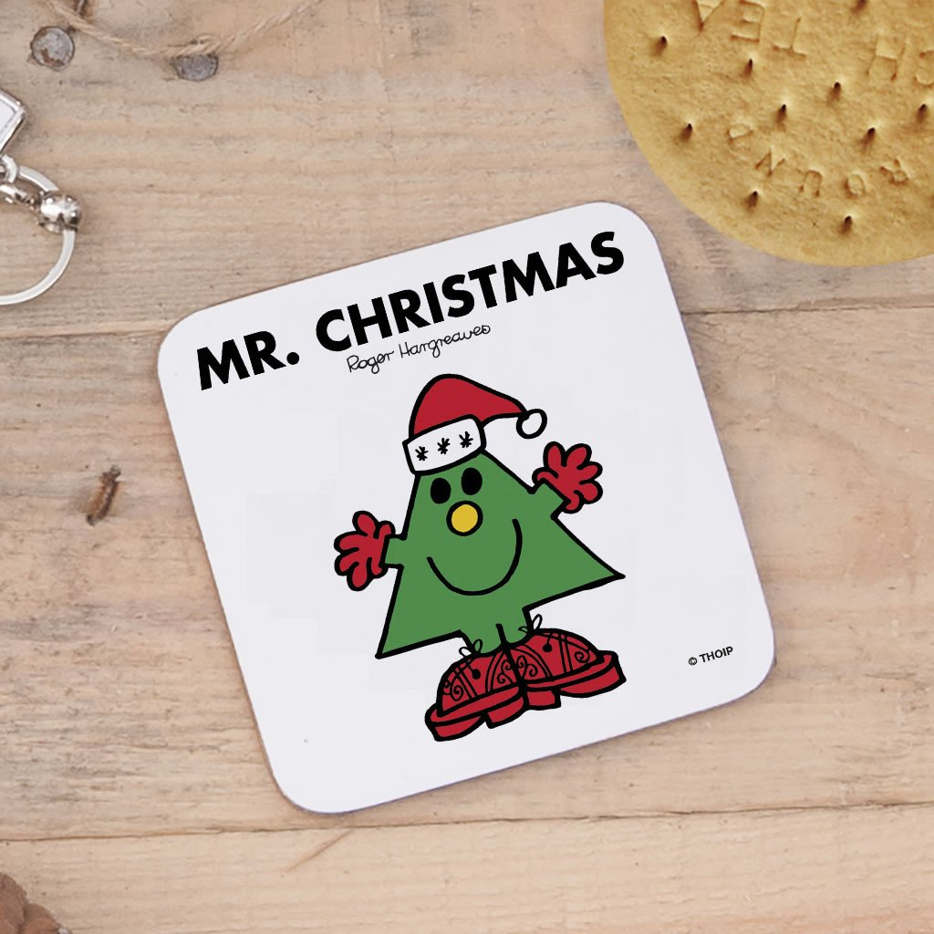 Mr. Christmas Cork Coaster (Lifestyle)