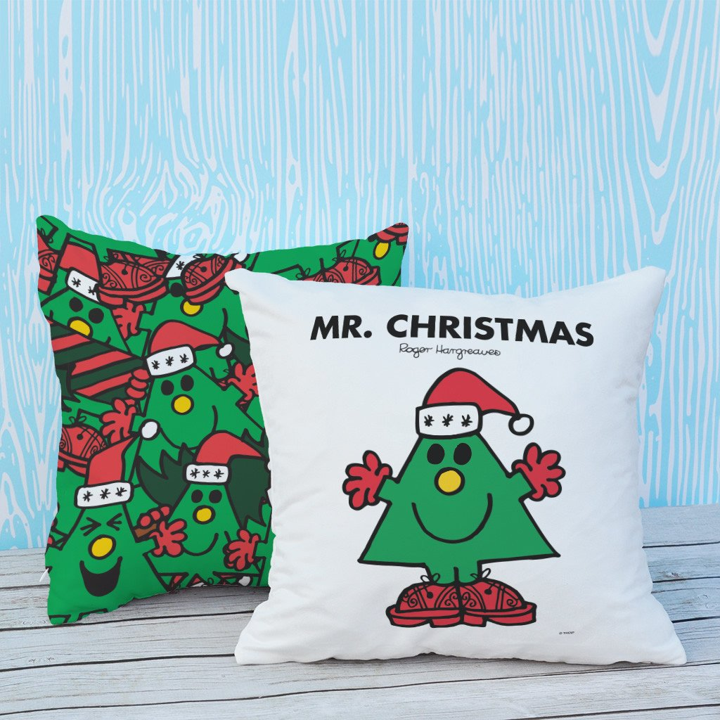 Mr. Christmas Micro Fibre Cushion (Lifestyle)