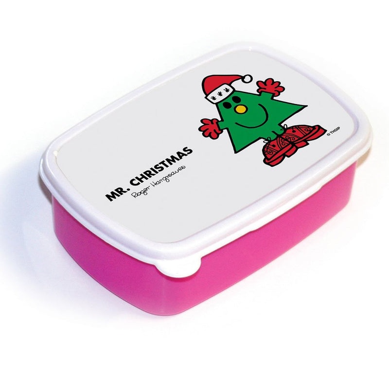 Mr. Christmas Lunchbox (Pink)