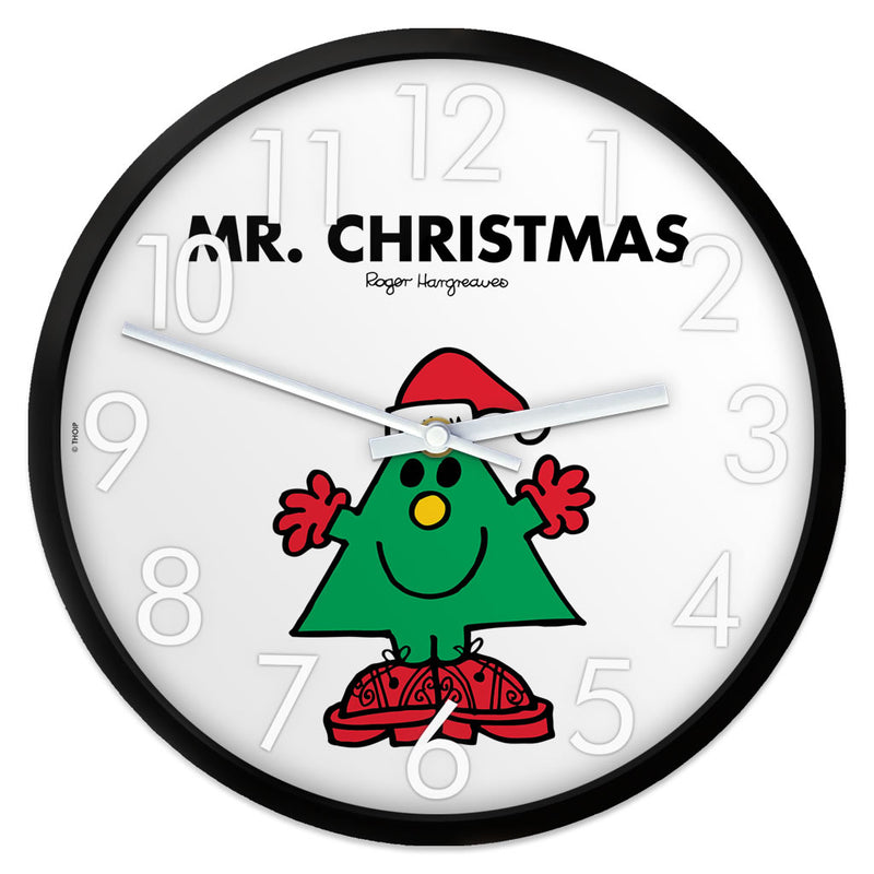 Mr. Christmas Personalised Clock