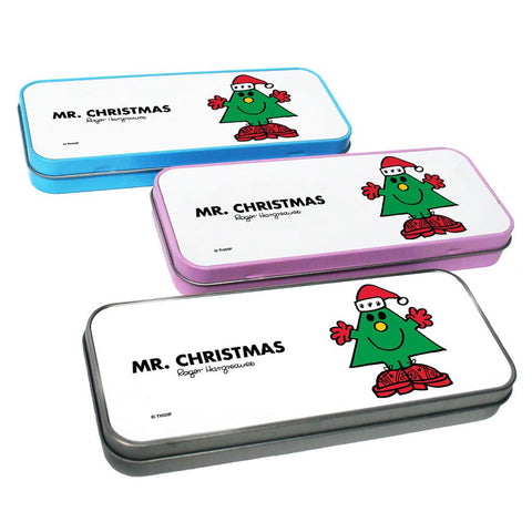 Mr. Christmas Pencil Case Tin