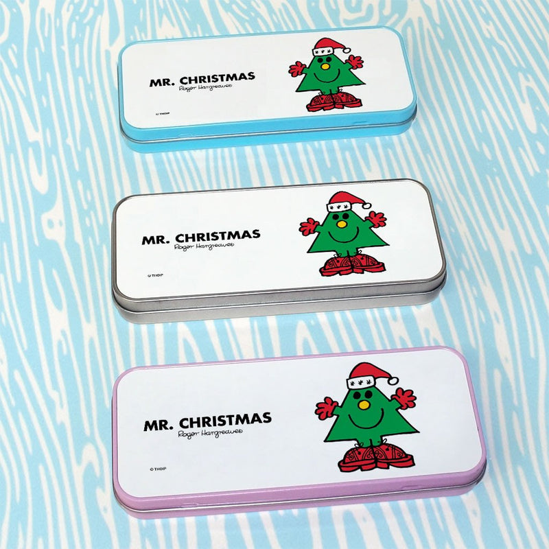 Mr. Christmas Pencil Case Tin (Lifestyle)