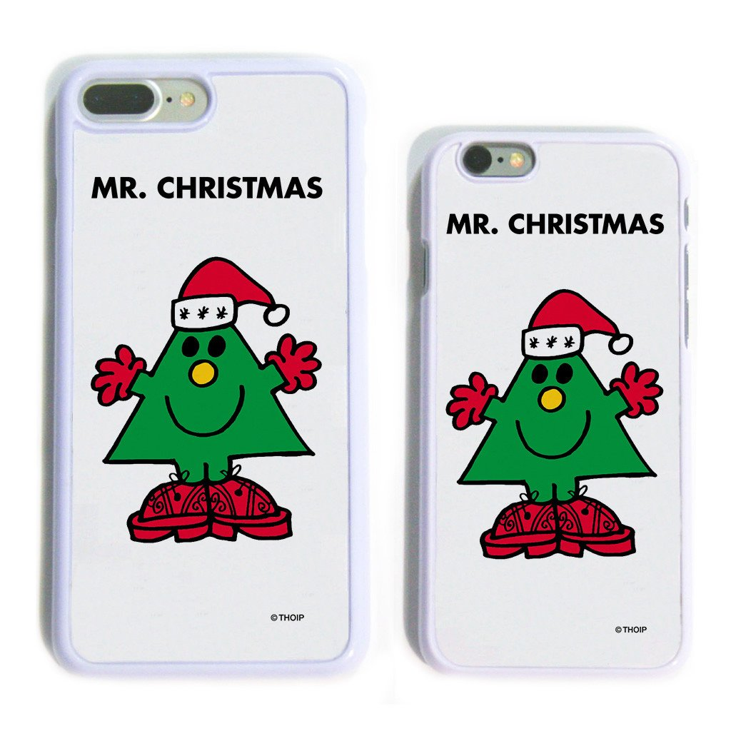 Mr. Christmas White Phone Case