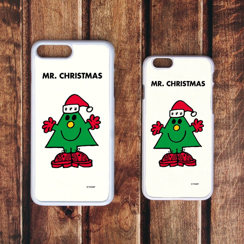 Mr. Christmas White Phone Case (Lifestyle)