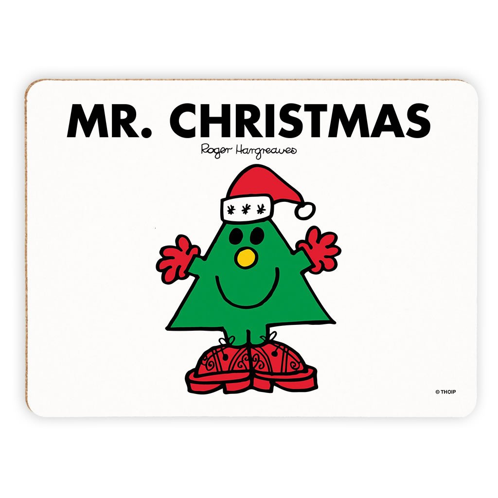 Mr. Christmas Cork Placemat