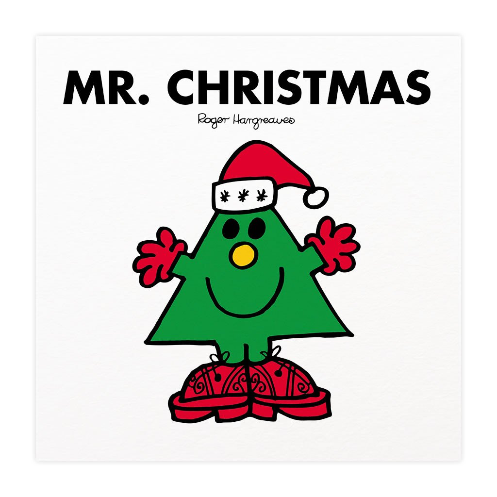Mr. Christmas Mounted Art Print