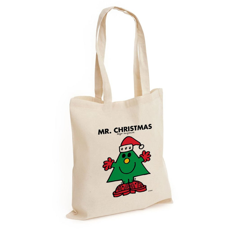 Mr. Christmas Long Handled Tote Bag