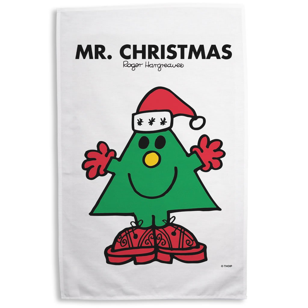 Mr. Christmas Tea Towel