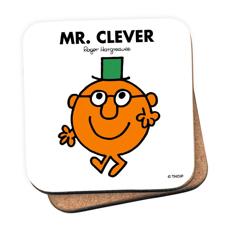 Mr. Clever Cork Coaster