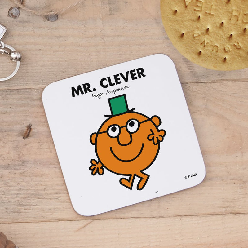 Mr. Clever Cork Coaster (Lifestyle)