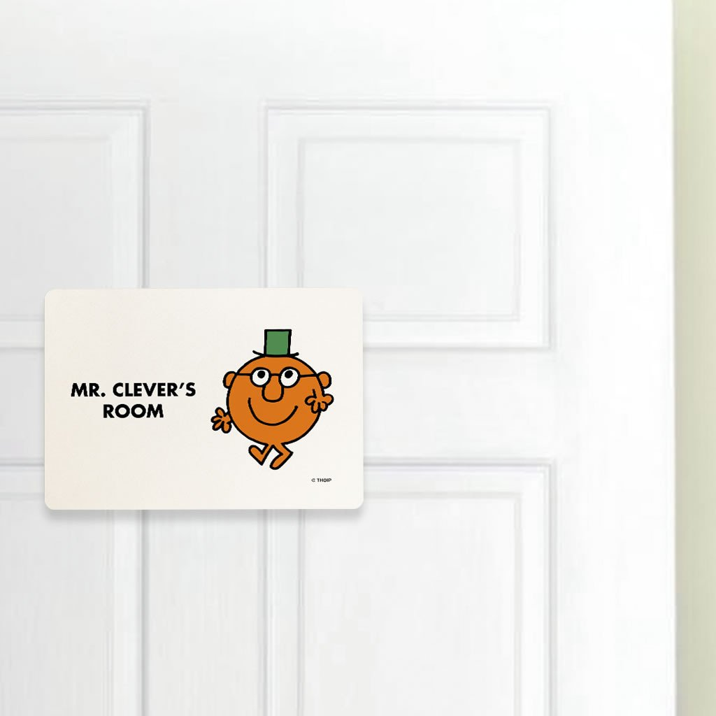 Mr. Clever Door Plaque (Lifestyle)